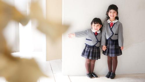 入園入学の記念写真